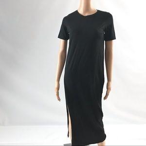 ASOS Women's Dress Size 00 Black Midi